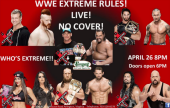 WWE Extreme Rules at Summers!
