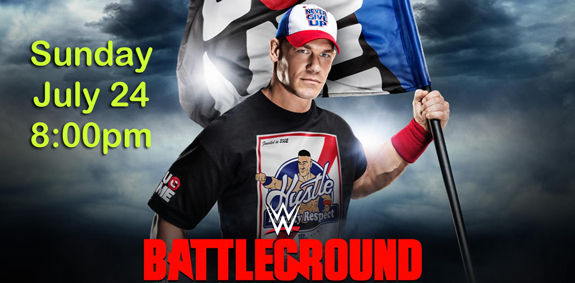 Join us for WWE Battleground at Summers!