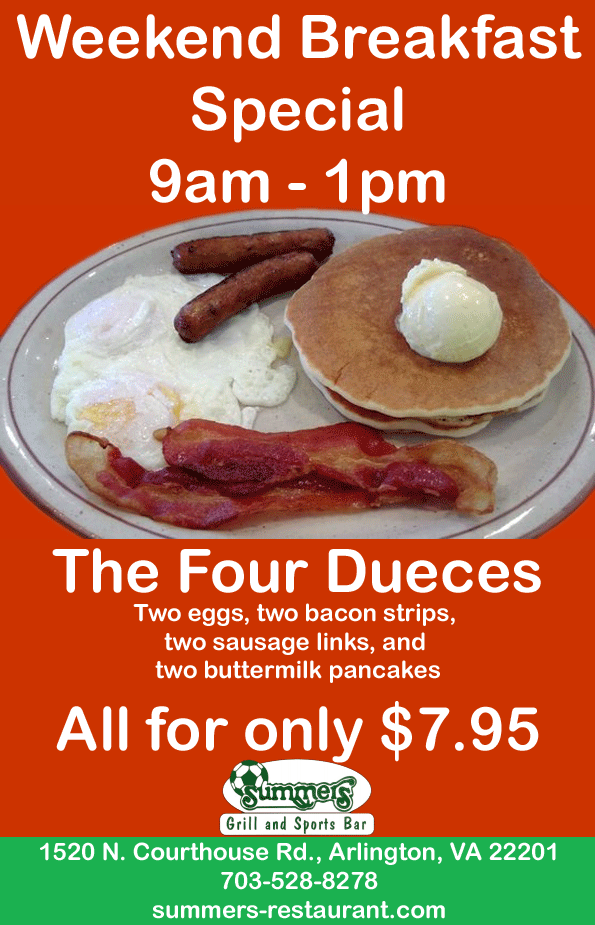 Weekend Breafast Special Only $7.95