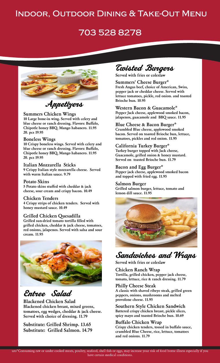Summers Menu 2020-06-12 Page 1